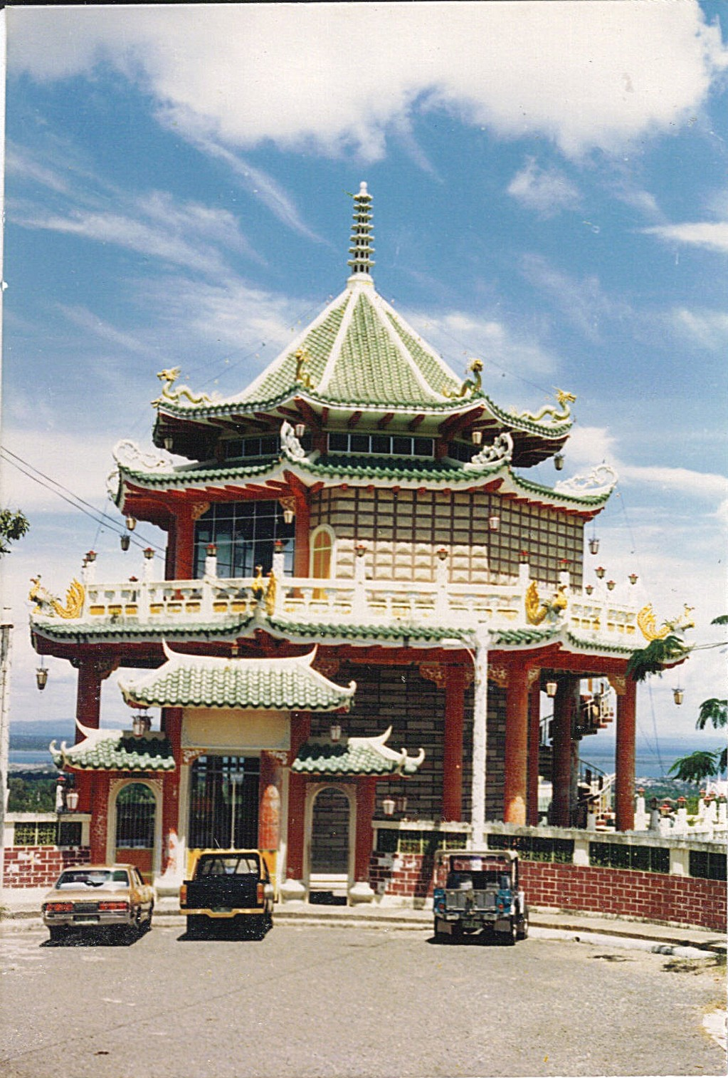 Top Dome Highest Entrance Cebu Chinese Temple