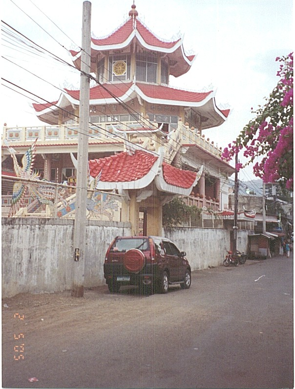 Chinese Temple in the Philippines