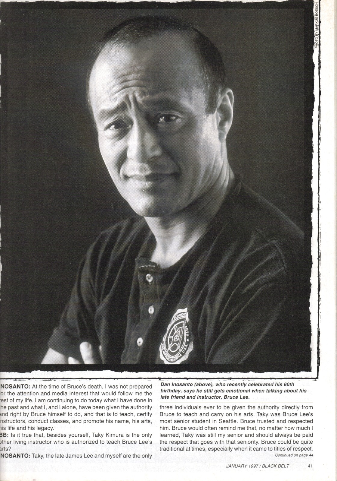 All JKD Inst. come from Dan Inosanto Except he himself