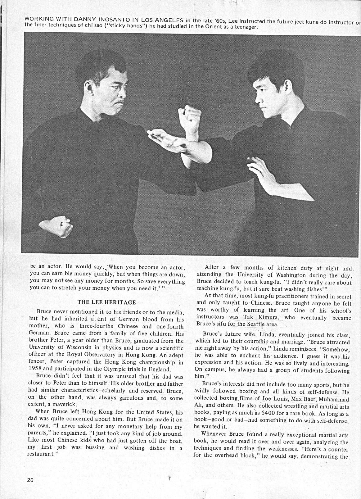 The Bruce Lee Heritage