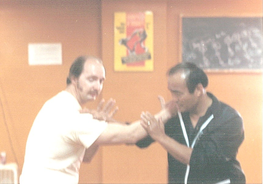 Wing Chun with Dan I
